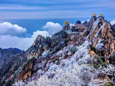 Горы Laojun в Китае
