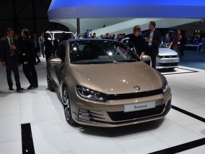 Авто Китай 2014: Volkswagen Scirocco
