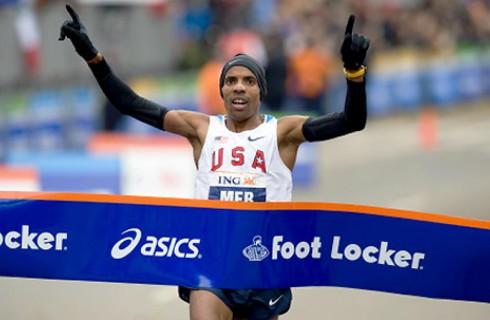 Первый американец, победивший в Бостонском марафоне