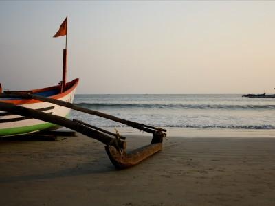 Очистить пляж островов Гоа