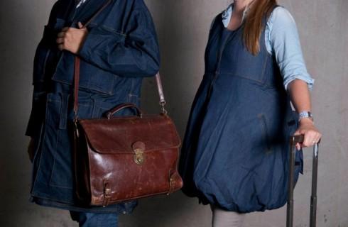 Для экономных: платье вместо чемодана
