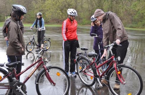 Вуз, обучающий езде на велосипеде