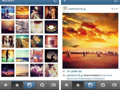Алгоритм для Instagram