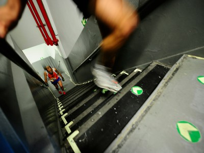 Бег по лестнице
