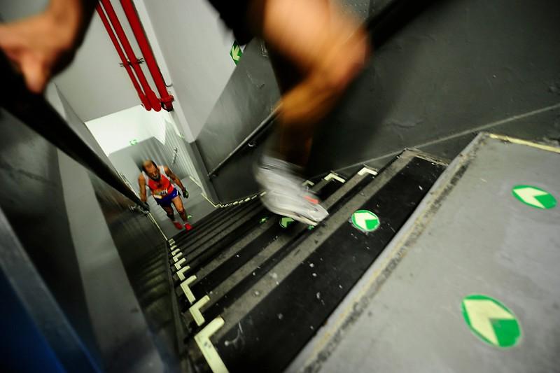 В нью-йоркском ВТЦ-4 состоялся забег по лестнице