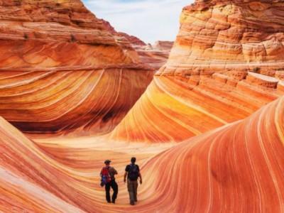 Природа удивляет: песчаная волна