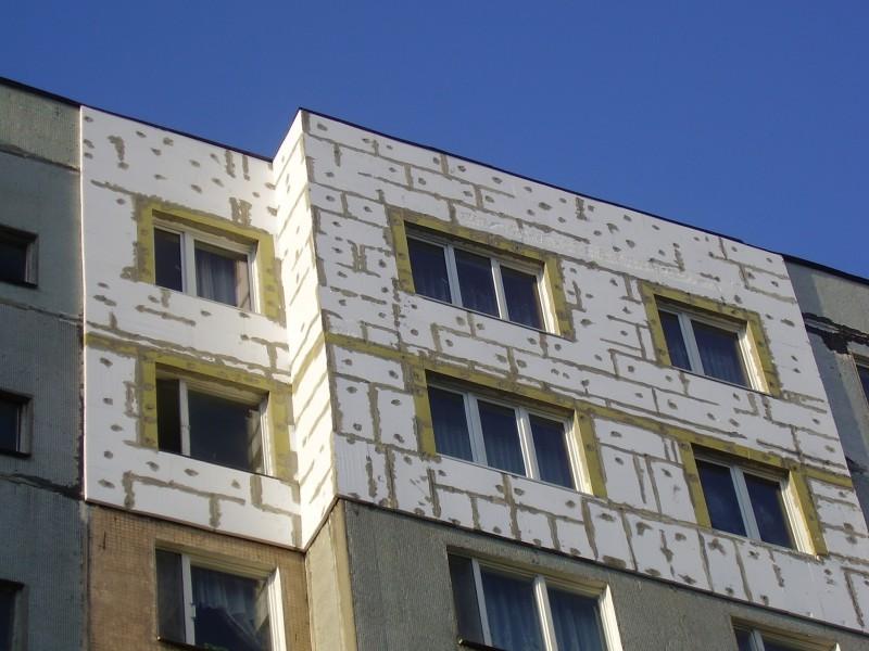 Эффективный способ утепления стен зданий