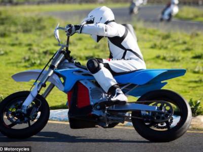 Электрический стелс мотоцикл-велосипед