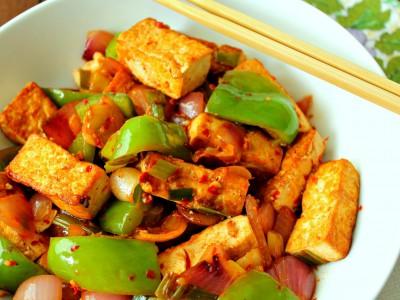 Блюдо из тофу