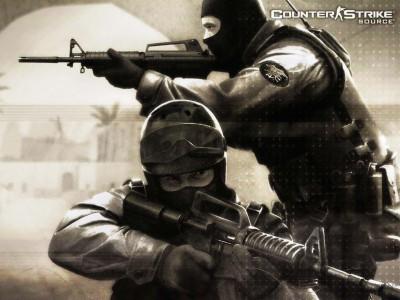 Всемирно известная игра Counter Strike Source