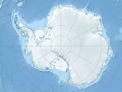 Выпуклость на коре Земли в Антарктиде