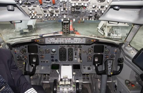 Отчаянный способ управления самолетом