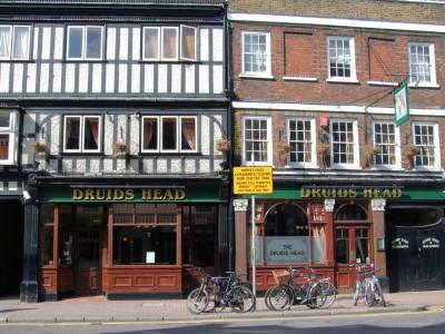Паб в Лондоне Druids_ Head