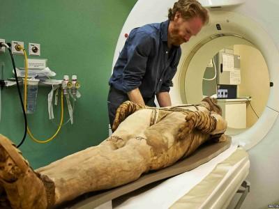 Египетские мумии подверглись МРТ