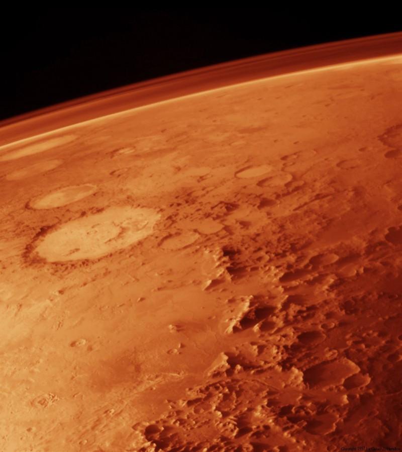 Минералы Марса создали микробы