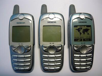 Старые телефоны: Siemens SL45i