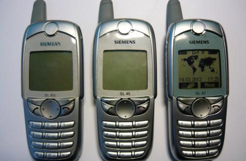 Возвращение ретро-мобильников