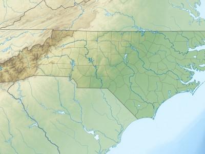 Очистка реки Дан в Штате Северная Каролина