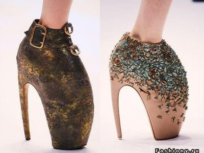 Изменить форму стоп, чтобы дизайнерские туфли смотрелись красиво