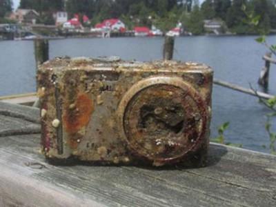 Найденная фотокамера