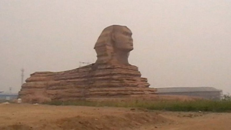 Большой Сфинкс приехал в Китай