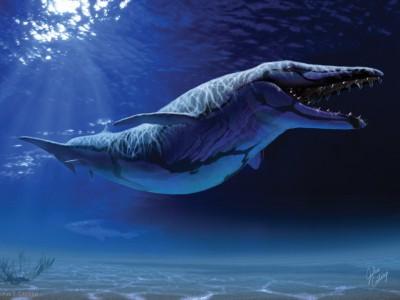 Изображение динозавров: одна из работ Джулиуса Чотоньи