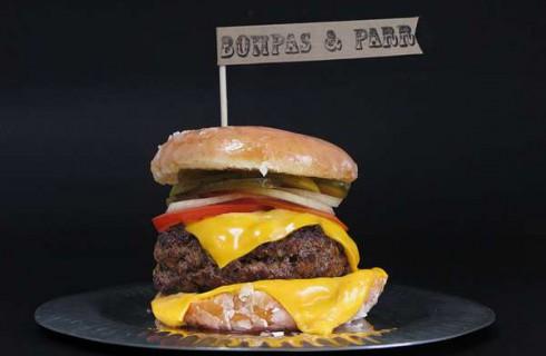 Чизбургер увеличился в размерах