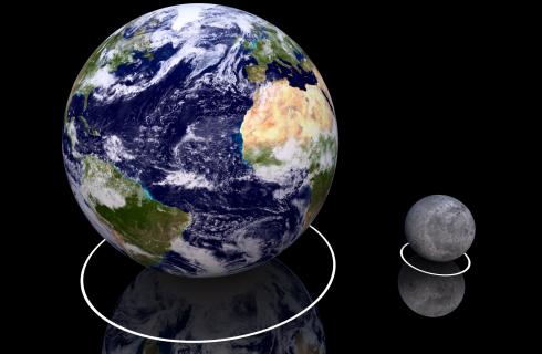 Землю и Луну соединили с помощью Интернета