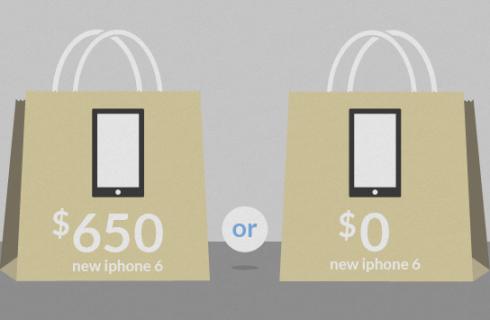 iPhone 6 позволит своим владельцам «сэкономить» деньги