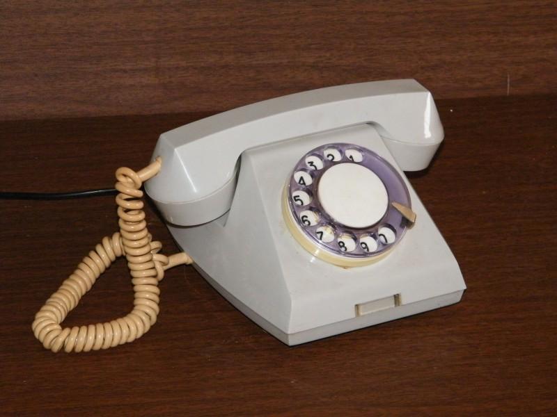Берегите стационарный телефон