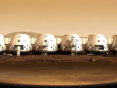 Mars One: первая марсианская колония