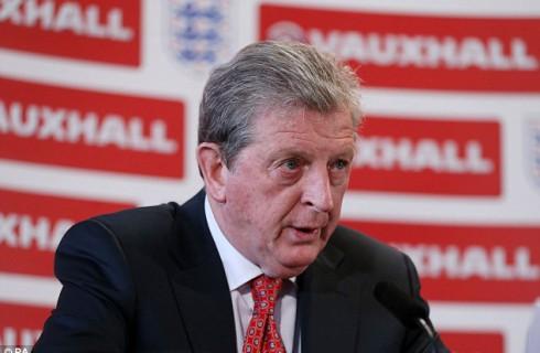 Рой Ходжсон показал СМИ сборную Англии