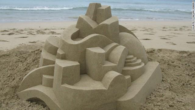 Песчаные замки Кельвина Зайберта