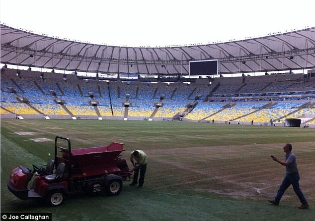 Стадион в Марокана находится не в лучшем состоянии