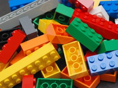 Визитка LEGO
