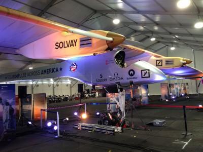 Солнечный самолет Solar Impulse 2