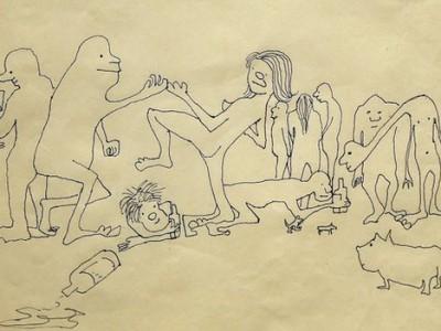 Рисунки Джона Леннона