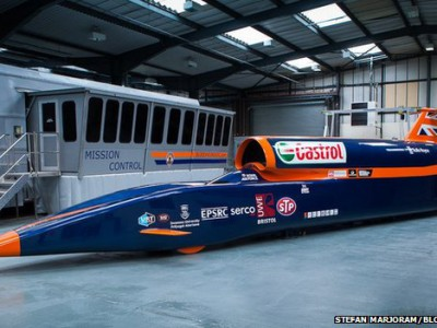 Гоночный болид Bloodhound SSC