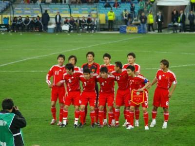 Китайская сборная, 2008 год