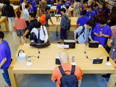 Новый магазин Apple в Токио