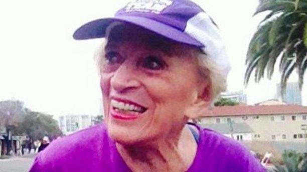 91-летняя женщина установила новый рекорд