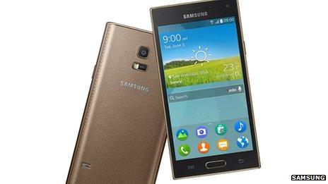 Samsung запускает первый Tizen телефон