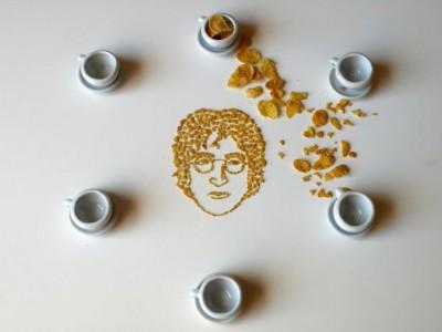 Портреты из кукурузных хлопьев