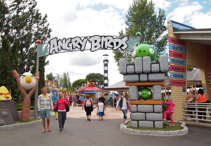 В Санкт-Петербурге появится парк развлечений Angry Birds