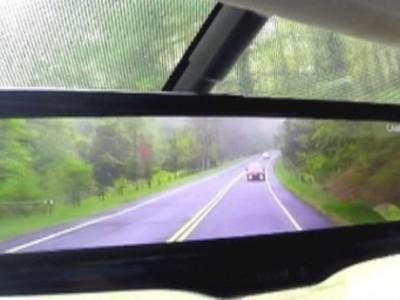 Умное зеркало в машинах Nissan