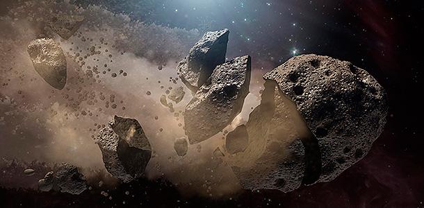 NASA обнаружило астероид для высадки