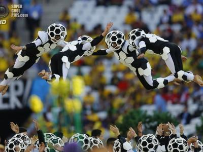 Чемпионату мира по футболу 2014  дан старт
