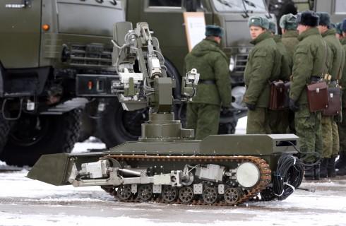 Россию будут защищать боевые роботы