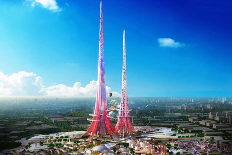 Эйфелева башня XXI века появится в Китае