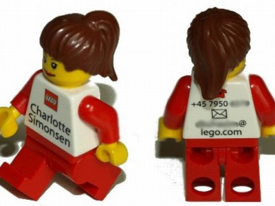 Визитки LEGO
